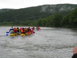 2011.06.19 Rafting (сплав річкою Стрий)