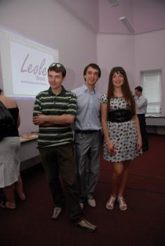 2011.07.14 Презентація в Клубі найбільшої бізнес-бібліотеки в Західній Україні (1200 книг)