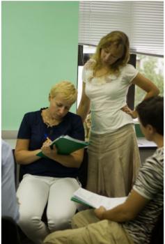 2012.07.16-21 Курс з Наталією Галицькою Мистецтво переговорів у бізнесі